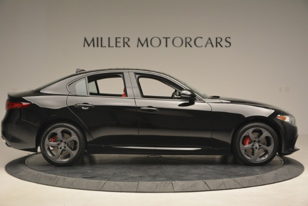 New 2018 Alfa Romeo Giulia Sport Q4 for sale Sold at Rolls-Royce Motor Cars Greenwich in Greenwich CT 06830 9