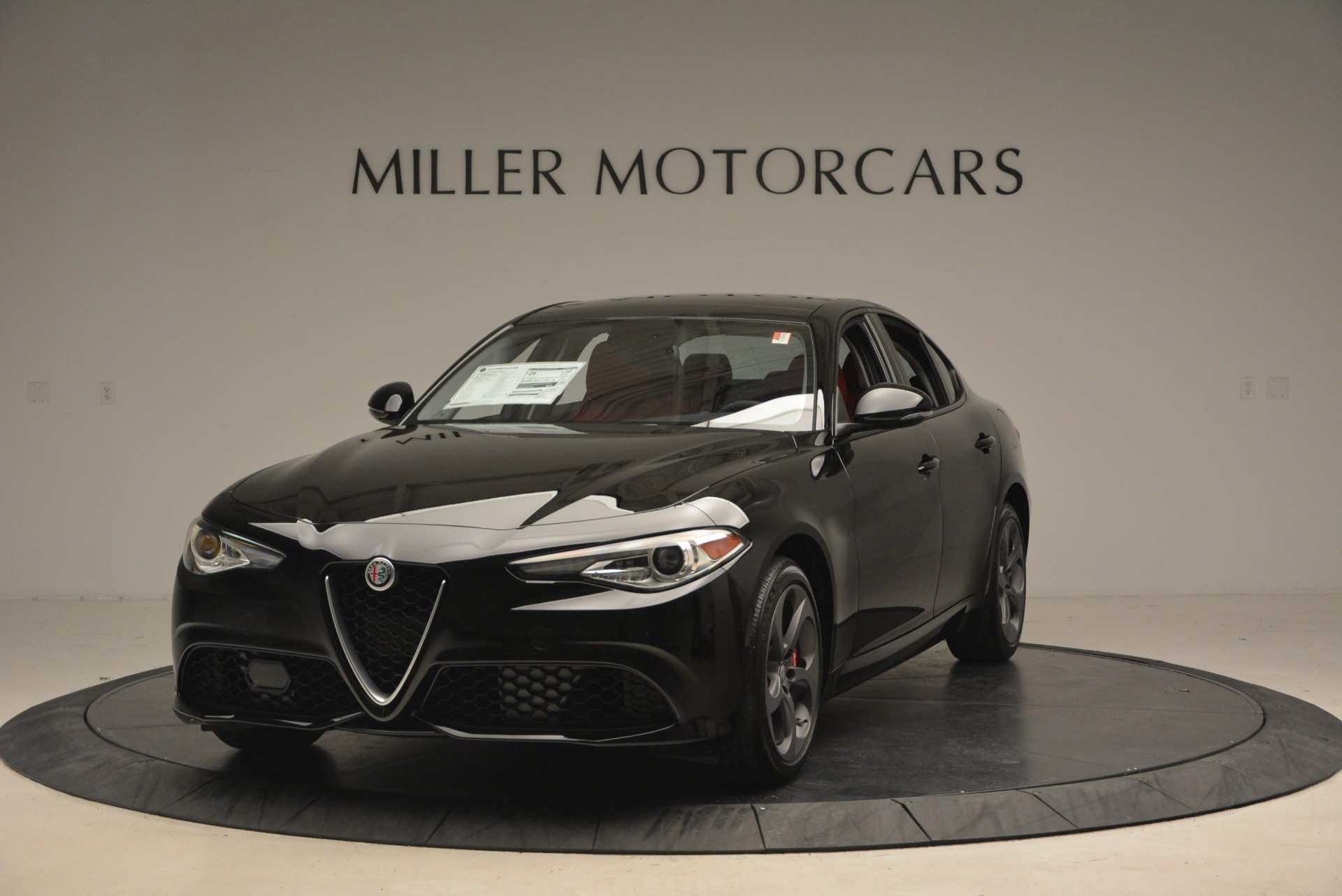 New 2018 Alfa Romeo Giulia Sport Q4 for sale Sold at Rolls-Royce Motor Cars Greenwich in Greenwich CT 06830 1