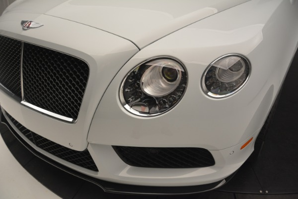 Used 2014 Bentley Continental GT V8 S for sale Sold at Rolls-Royce Motor Cars Greenwich in Greenwich CT 06830 21