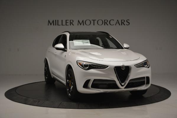 New 2018 Alfa Romeo Stelvio Quadrifoglio Quadrifoglio for sale Sold at Rolls-Royce Motor Cars Greenwich in Greenwich CT 06830 15