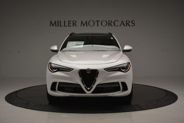 New 2018 Alfa Romeo Stelvio Quadrifoglio Quadrifoglio for sale Sold at Rolls-Royce Motor Cars Greenwich in Greenwich CT 06830 16