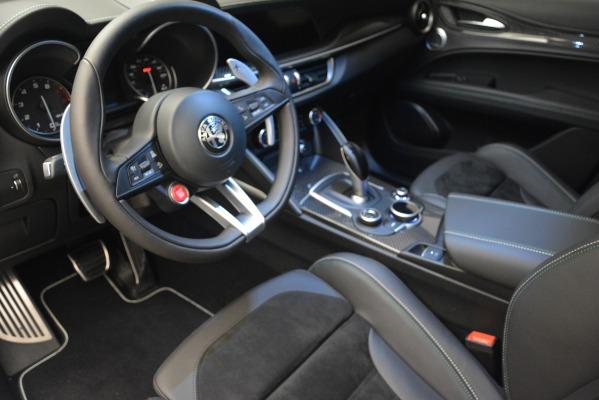 New 2018 Alfa Romeo Stelvio Quadrifoglio Quadrifoglio for sale Sold at Rolls-Royce Motor Cars Greenwich in Greenwich CT 06830 19