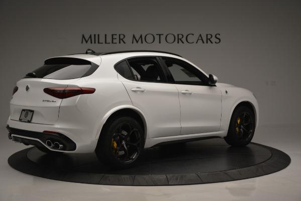 New 2018 Alfa Romeo Stelvio Quadrifoglio Quadrifoglio for sale Sold at Rolls-Royce Motor Cars Greenwich in Greenwich CT 06830 9