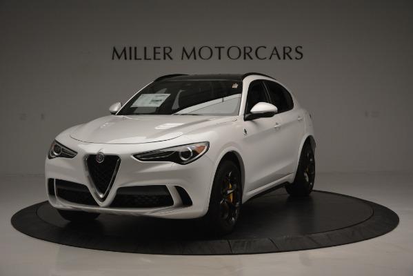 New 2018 Alfa Romeo Stelvio Quadrifoglio Quadrifoglio for sale Sold at Rolls-Royce Motor Cars Greenwich in Greenwich CT 06830 1