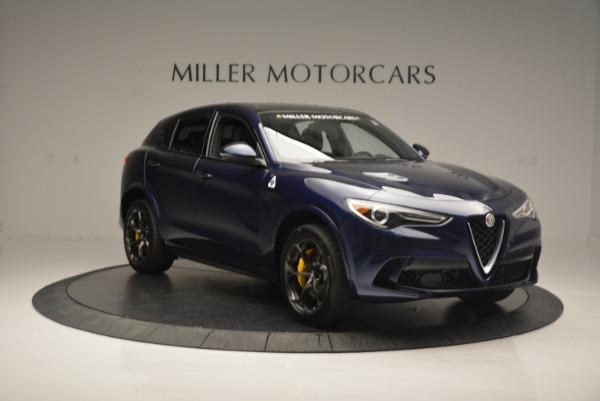 New 2018 Alfa Romeo Stelvio Quadrifoglio for sale Sold at Rolls-Royce Motor Cars Greenwich in Greenwich CT 06830 11