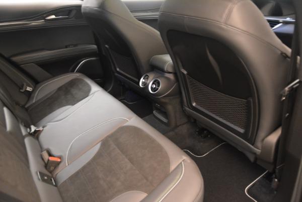New 2018 Alfa Romeo Stelvio Quadrifoglio for sale Sold at Rolls-Royce Motor Cars Greenwich in Greenwich CT 06830 22