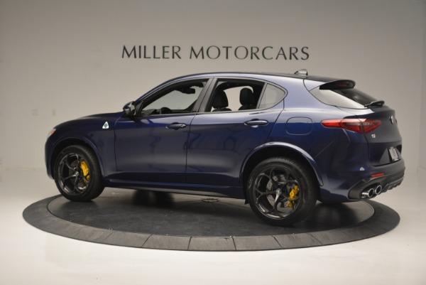 New 2018 Alfa Romeo Stelvio Quadrifoglio for sale Sold at Rolls-Royce Motor Cars Greenwich in Greenwich CT 06830 4