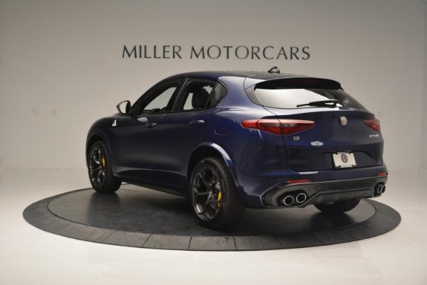 New 2018 Alfa Romeo Stelvio Quadrifoglio for sale Sold at Rolls-Royce Motor Cars Greenwich in Greenwich CT 06830 5