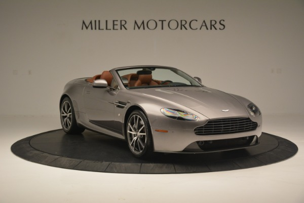 Used 2015 Aston Martin V8 Vantage Roadster for sale Sold at Rolls-Royce Motor Cars Greenwich in Greenwich CT 06830 11