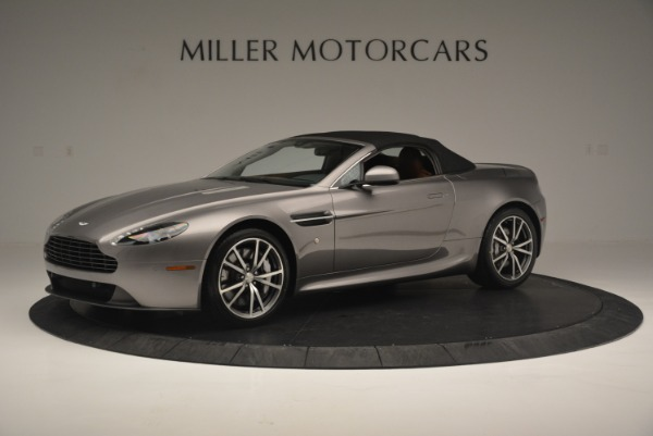 Used 2015 Aston Martin V8 Vantage Roadster for sale Sold at Rolls-Royce Motor Cars Greenwich in Greenwich CT 06830 14