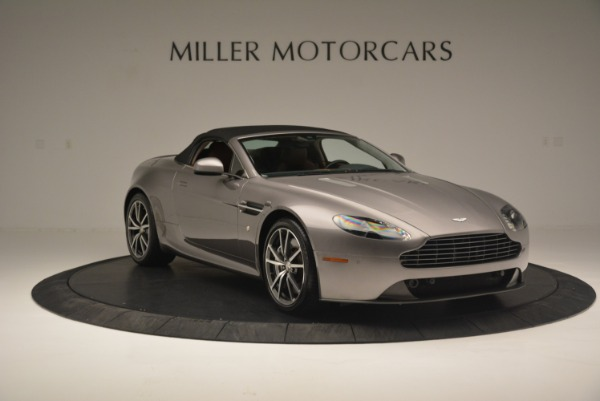 Used 2015 Aston Martin V8 Vantage Roadster for sale Sold at Rolls-Royce Motor Cars Greenwich in Greenwich CT 06830 18