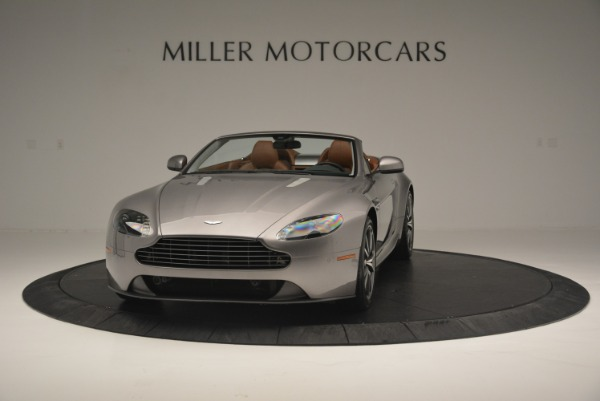 Used 2015 Aston Martin V8 Vantage Roadster for sale Sold at Rolls-Royce Motor Cars Greenwich in Greenwich CT 06830 2