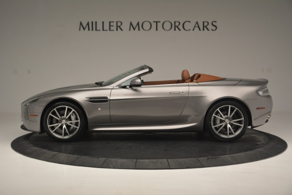 Used 2015 Aston Martin V8 Vantage Roadster for sale Sold at Rolls-Royce Motor Cars Greenwich in Greenwich CT 06830 3