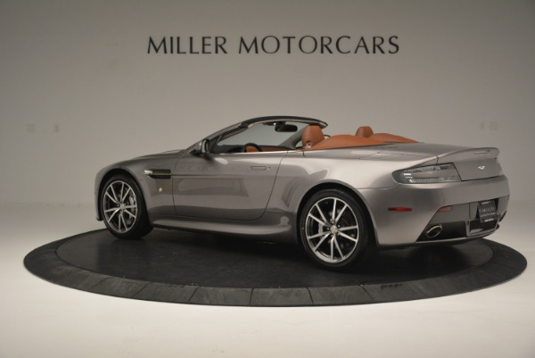 Used 2015 Aston Martin V8 Vantage Roadster for sale Sold at Rolls-Royce Motor Cars Greenwich in Greenwich CT 06830 4