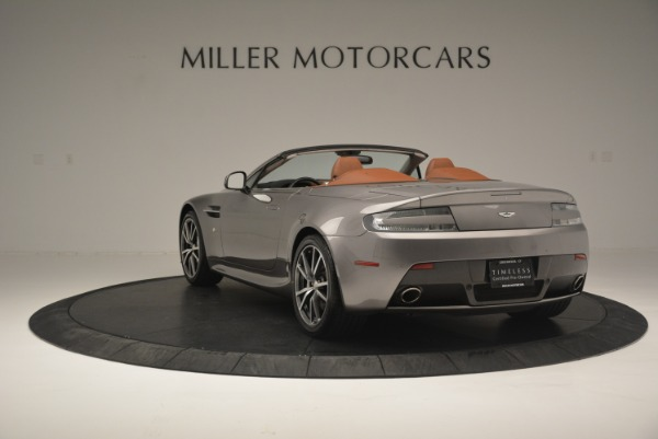 Used 2015 Aston Martin V8 Vantage Roadster for sale Sold at Rolls-Royce Motor Cars Greenwich in Greenwich CT 06830 5