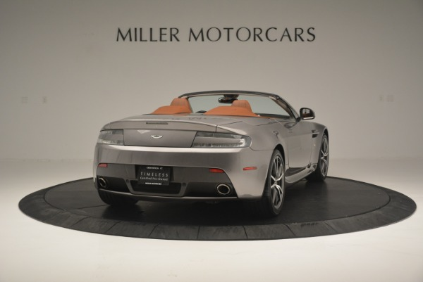 Used 2015 Aston Martin V8 Vantage Roadster for sale Sold at Rolls-Royce Motor Cars Greenwich in Greenwich CT 06830 7