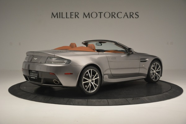 Used 2015 Aston Martin V8 Vantage Roadster for sale Sold at Rolls-Royce Motor Cars Greenwich in Greenwich CT 06830 8