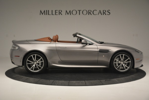 Used 2015 Aston Martin V8 Vantage Roadster for sale Sold at Rolls-Royce Motor Cars Greenwich in Greenwich CT 06830 9