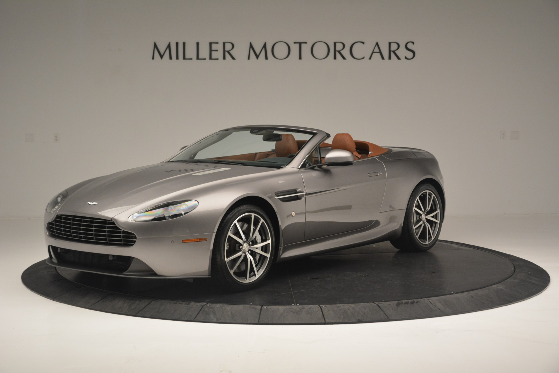 Used 2015 Aston Martin V8 Vantage Roadster for sale Sold at Rolls-Royce Motor Cars Greenwich in Greenwich CT 06830 1