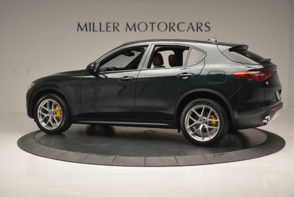 New 2018 Alfa Romeo Stelvio Ti Sport Q4 for sale Sold at Rolls-Royce Motor Cars Greenwich in Greenwich CT 06830 5