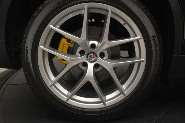 New 2018 Alfa Romeo Stelvio Ti Sport Q4 for sale Sold at Rolls-Royce Motor Cars Greenwich in Greenwich CT 06830 26