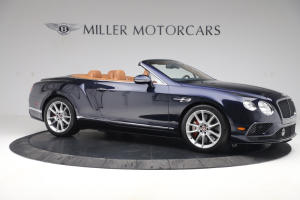 Used 2016 Bentley Continental GTC V8 S for sale Sold at Rolls-Royce Motor Cars Greenwich in Greenwich CT 06830 10