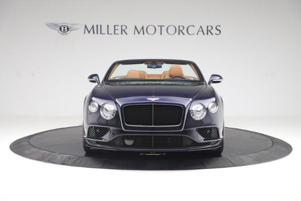 Used 2016 Bentley Continental GTC V8 S for sale Sold at Rolls-Royce Motor Cars Greenwich in Greenwich CT 06830 19