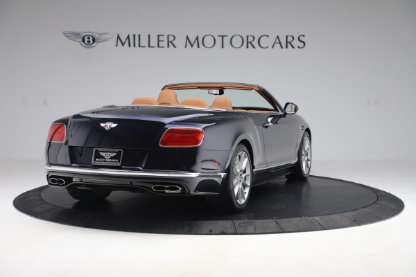 Used 2016 Bentley Continental GTC V8 S for sale Sold at Rolls-Royce Motor Cars Greenwich in Greenwich CT 06830 7
