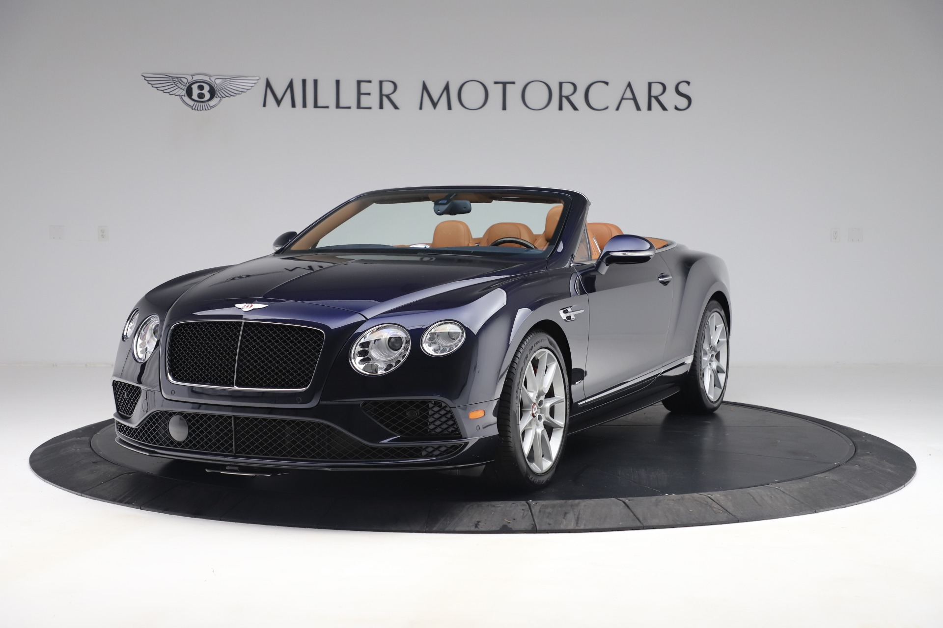 Used 2016 Bentley Continental GTC V8 S for sale Sold at Rolls-Royce Motor Cars Greenwich in Greenwich CT 06830 1