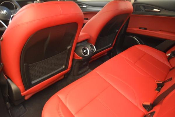 New 2018 Alfa Romeo Stelvio Ti Q4 for sale Sold at Rolls-Royce Motor Cars Greenwich in Greenwich CT 06830 16