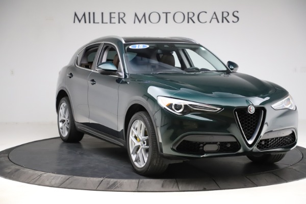 Used 2018 Alfa Romeo Stelvio Ti Q4 for sale $32,900 at Rolls-Royce Motor Cars Greenwich in Greenwich CT 06830 11