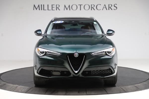 Used 2018 Alfa Romeo Stelvio Ti Q4 for sale $32,900 at Rolls-Royce Motor Cars Greenwich in Greenwich CT 06830 12