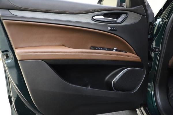 Used 2018 Alfa Romeo Stelvio Ti Q4 for sale $32,900 at Rolls-Royce Motor Cars Greenwich in Greenwich CT 06830 17