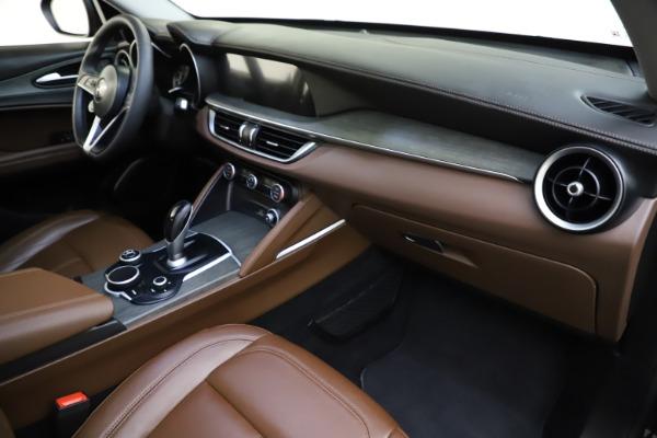 Used 2018 Alfa Romeo Stelvio Ti Q4 for sale $32,900 at Rolls-Royce Motor Cars Greenwich in Greenwich CT 06830 22