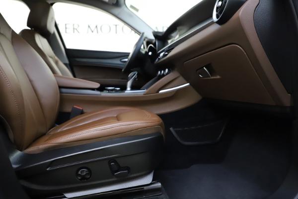Used 2018 Alfa Romeo Stelvio Ti Q4 for sale $32,900 at Rolls-Royce Motor Cars Greenwich in Greenwich CT 06830 23
