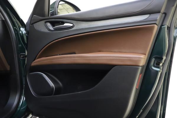 Used 2018 Alfa Romeo Stelvio Ti Q4 for sale $32,900 at Rolls-Royce Motor Cars Greenwich in Greenwich CT 06830 25