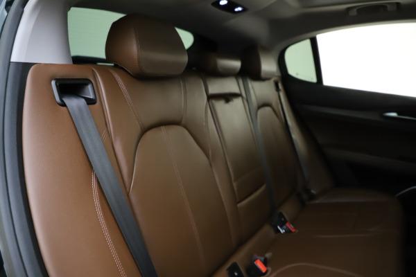 Used 2018 Alfa Romeo Stelvio Ti Q4 for sale $32,900 at Rolls-Royce Motor Cars Greenwich in Greenwich CT 06830 26