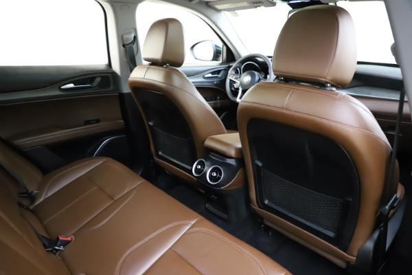 Used 2018 Alfa Romeo Stelvio Ti Q4 for sale $32,900 at Rolls-Royce Motor Cars Greenwich in Greenwich CT 06830 28