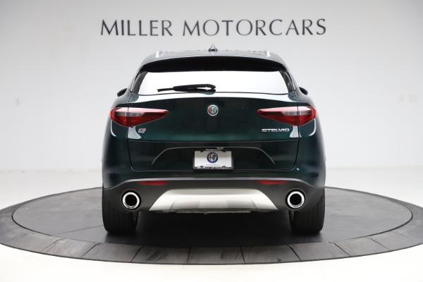 Used 2018 Alfa Romeo Stelvio Ti Q4 for sale $32,900 at Rolls-Royce Motor Cars Greenwich in Greenwich CT 06830 6