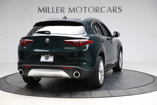 Used 2018 Alfa Romeo Stelvio Ti Q4 for sale $32,900 at Rolls-Royce Motor Cars Greenwich in Greenwich CT 06830 7