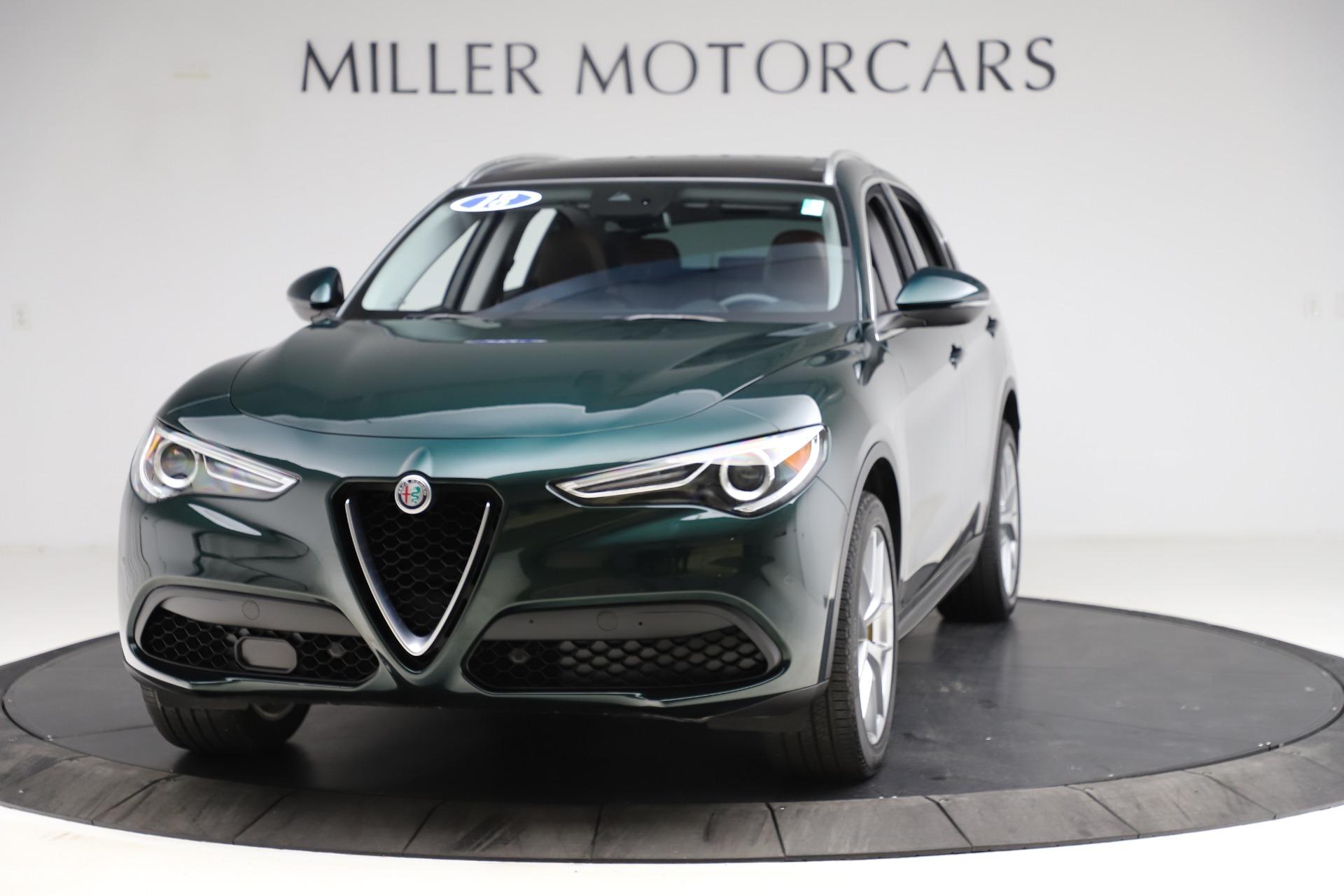 Used 2018 Alfa Romeo Stelvio Ti Q4 for sale $32,900 at Rolls-Royce Motor Cars Greenwich in Greenwich CT 06830 1