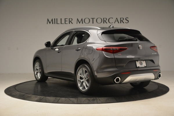 New 2018 Alfa Romeo Stelvio Ti Q4 for sale Sold at Rolls-Royce Motor Cars Greenwich in Greenwich CT 06830 5