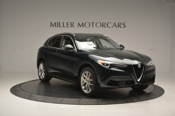 New 2018 Alfa Romeo Stelvio Ti Lusso Q4 for sale Sold at Rolls-Royce Motor Cars Greenwich in Greenwich CT 06830 12