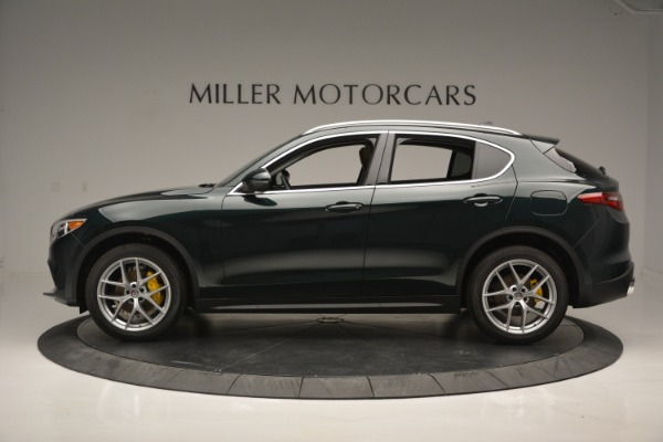 New 2018 Alfa Romeo Stelvio Ti Lusso Q4 for sale Sold at Rolls-Royce Motor Cars Greenwich in Greenwich CT 06830 3