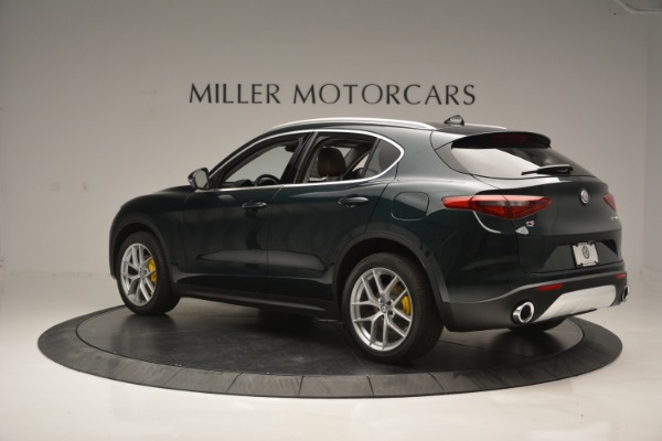 New 2018 Alfa Romeo Stelvio Ti Lusso Q4 for sale Sold at Rolls-Royce Motor Cars Greenwich in Greenwich CT 06830 4