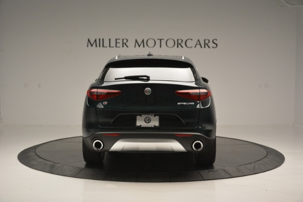 New 2018 Alfa Romeo Stelvio Ti Lusso Q4 for sale Sold at Rolls-Royce Motor Cars Greenwich in Greenwich CT 06830 6