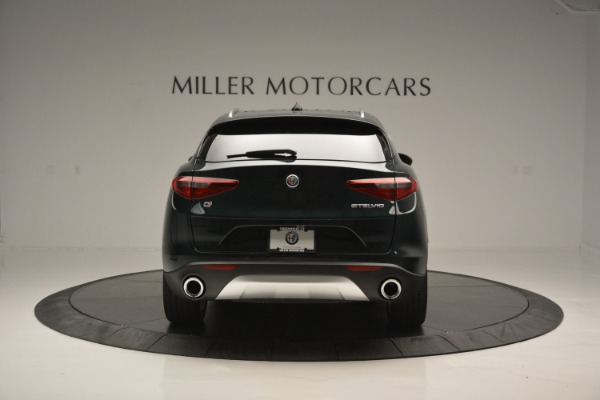 New 2018 Alfa Romeo Stelvio Ti Lusso Q4 for sale Sold at Rolls-Royce Motor Cars Greenwich in Greenwich CT 06830 7