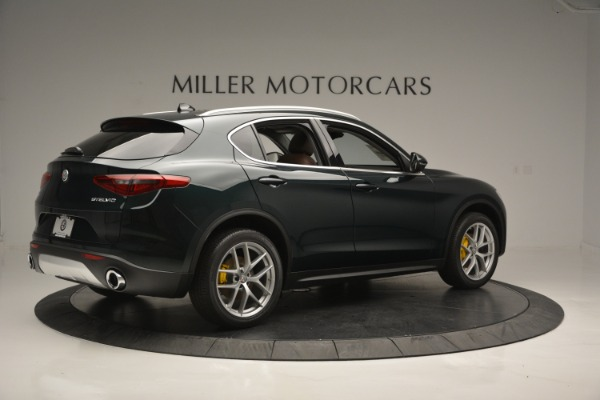 New 2018 Alfa Romeo Stelvio Ti Lusso Q4 for sale Sold at Rolls-Royce Motor Cars Greenwich in Greenwich CT 06830 9