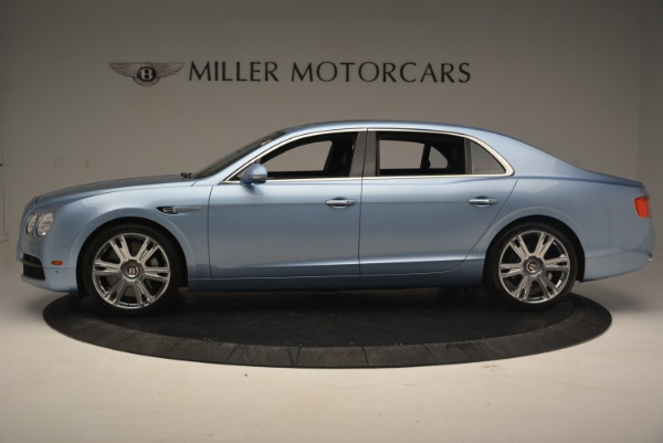New 2018 Bentley Flying Spur V8 for sale Sold at Rolls-Royce Motor Cars Greenwich in Greenwich CT 06830 3