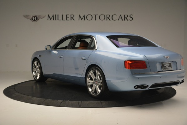New 2018 Bentley Flying Spur V8 for sale Sold at Rolls-Royce Motor Cars Greenwich in Greenwich CT 06830 5